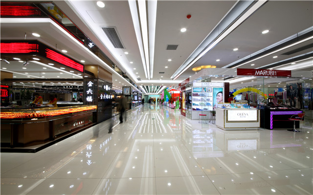 KEOU Frameless LED Light Panel-The design for the application of lighting in supermarket