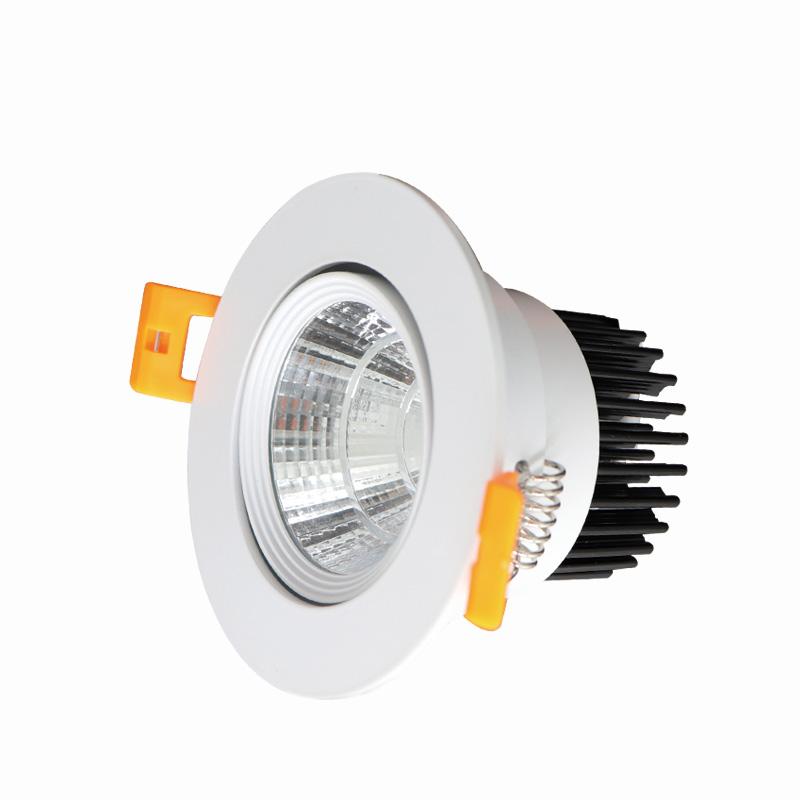 led cob downlight aluminum natural white 20 watt down light