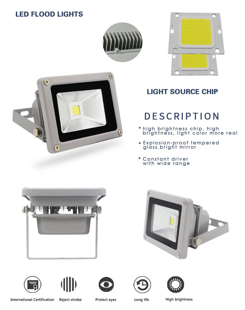 50 watts led flood light