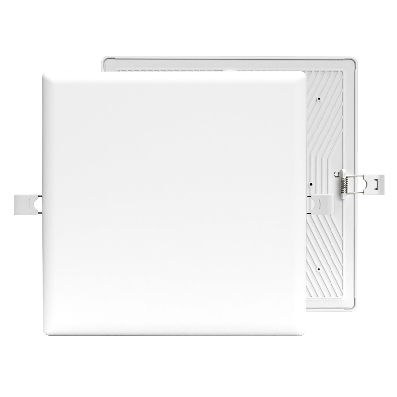 square ceiling light led 24w warm white led no frame panel lamp with PC aluminum