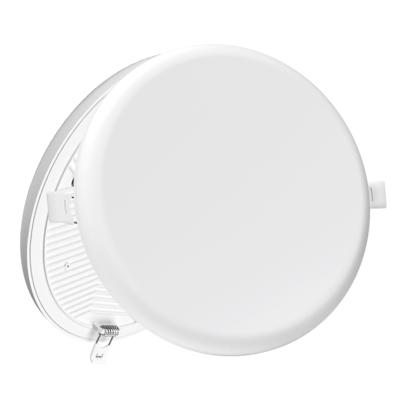 led panel light 18w surface mounted recessed 18 watt round frameless ceiling lamp support CCT adjustable