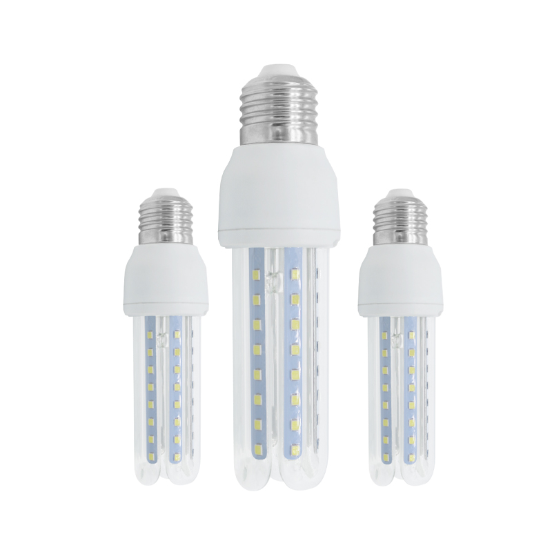 led corn bulb 3U E14 e27 b22 12w manufacturer in china