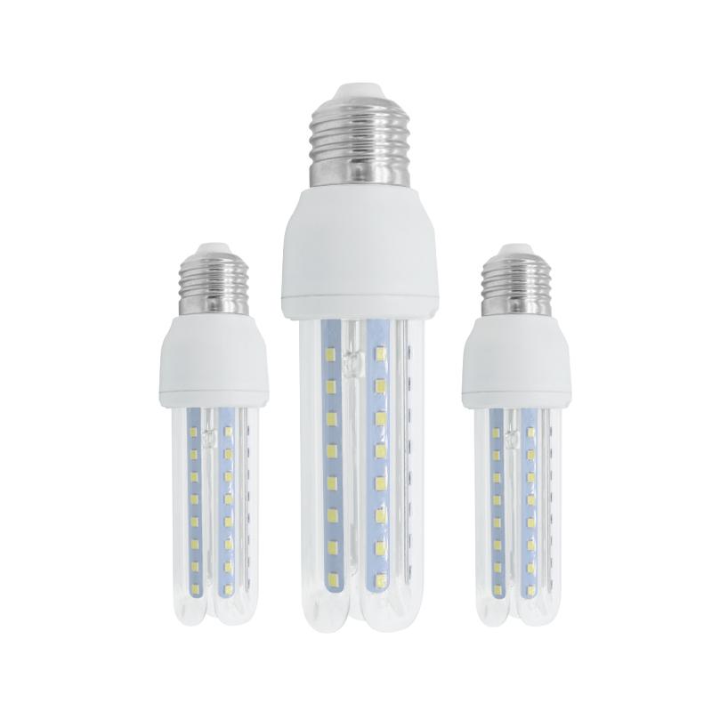 led corn bulb 3U E14 e27 b22 12w manufacturer in china