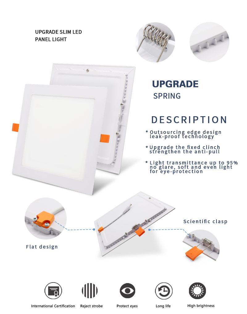 super bright led panel light