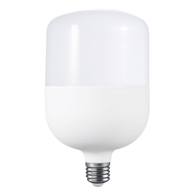E27 led bulb factory PC aluminum big bulb t shape column bulb lamp 28W 38W 48W 58W 68W