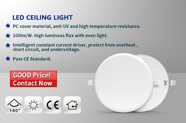 ceiling panel light 18w