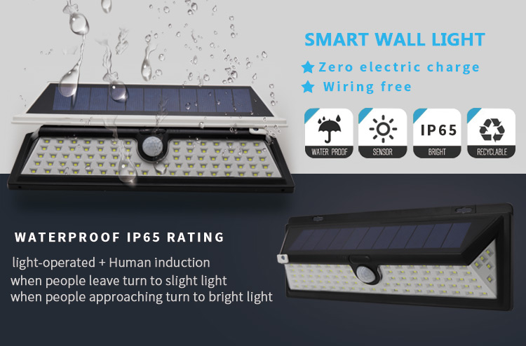 KEOU NEW ARRIVAL SOLAR LED WALL LIGHT