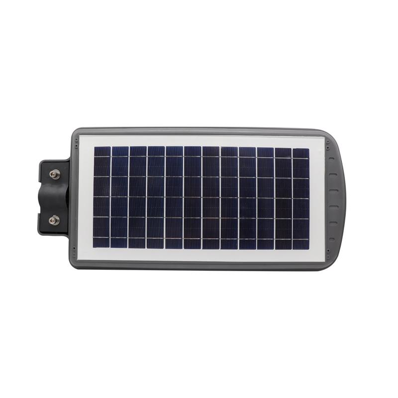 solar street light led 40w integrated high lumen power energy all in one ip65 ip66 smart intelligent motion sensor lamp