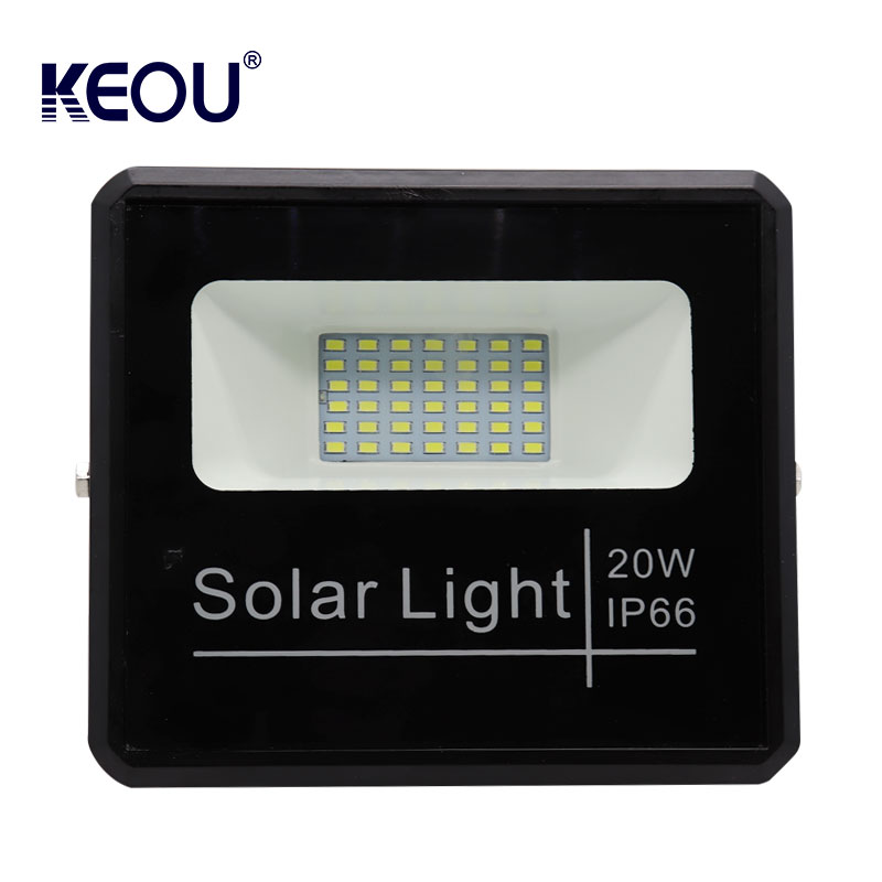 led floodlight solar 20w ip66 garden lamp waterproof 20 watt aluminum mini flood light for Garden baseball field