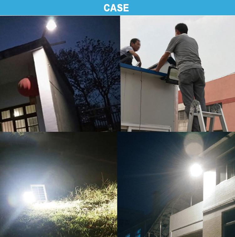 100w solar led flood light