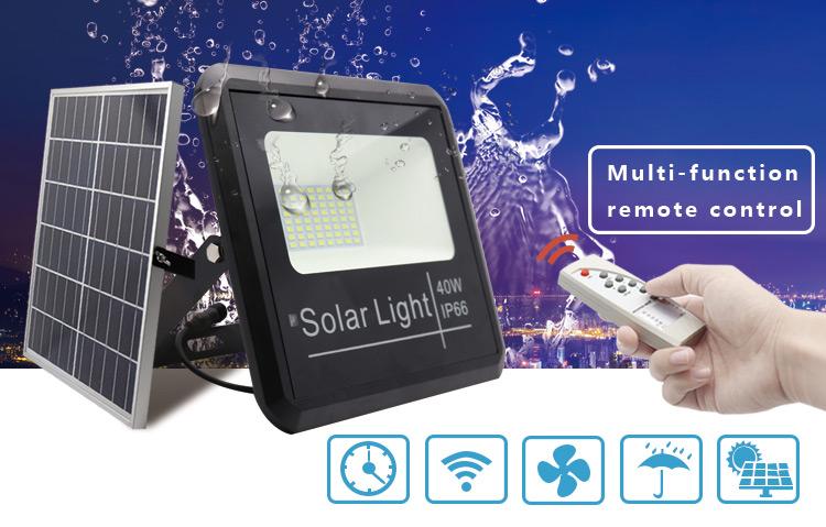 led flood light solar powered