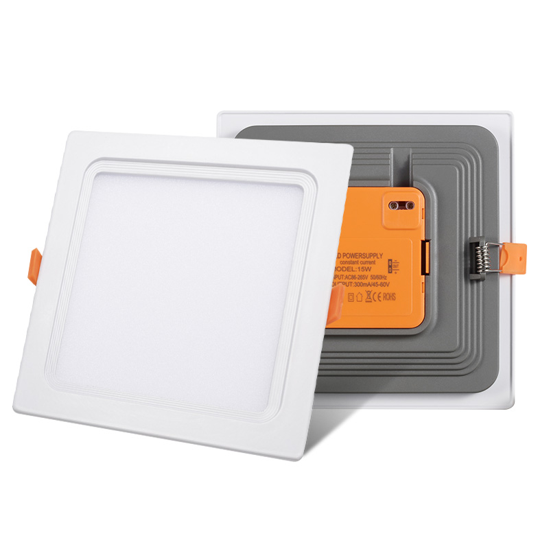 integrated led panel light 12w square embedded downlight 12 watt lamp support OEM ODM