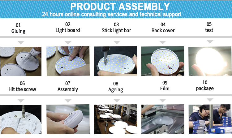 frameless panel light factory