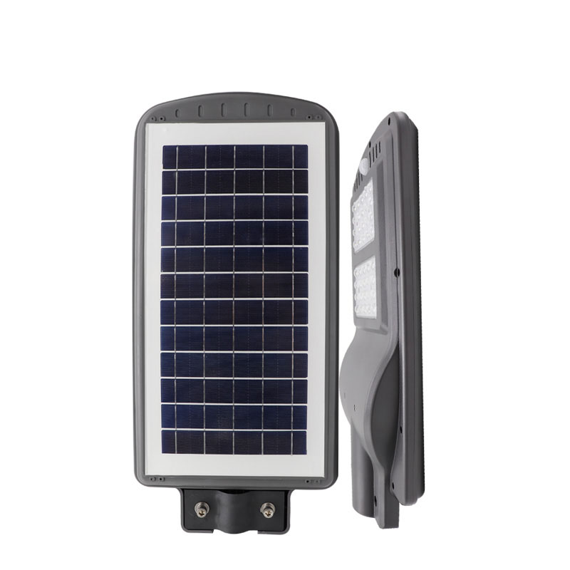 40w solar led street light all in one integrated power battery motion sensor 40 watt ip66 outdoor waterproof lamp