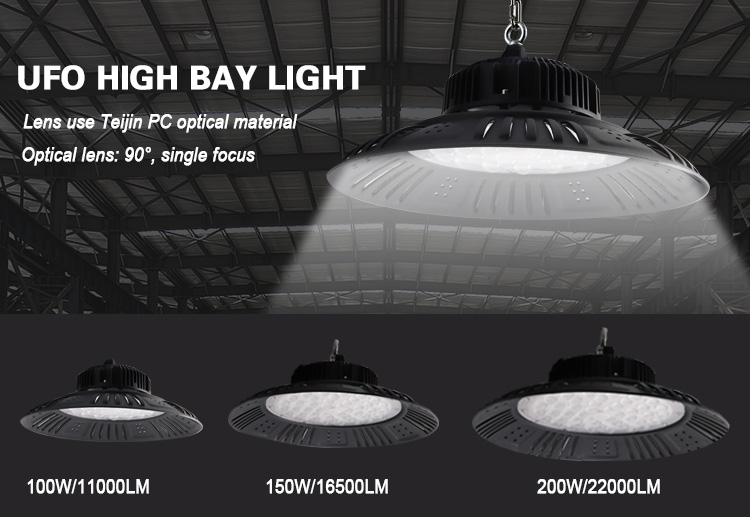 NEW PRODUCT UFO LED HIGH BAY LIGHT WITH 100W 150W 200W