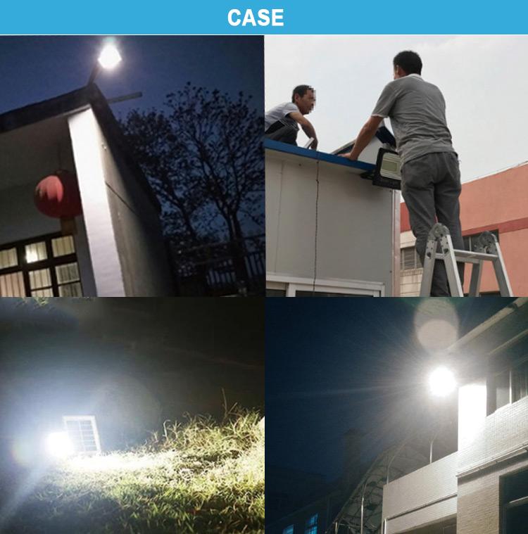 solar power led floodlight