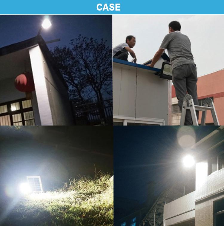 20w solar led flood light