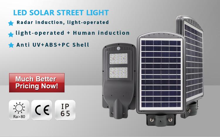 60watt solar led street light