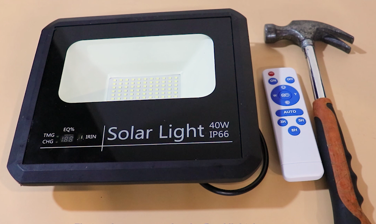 solar flood light factory