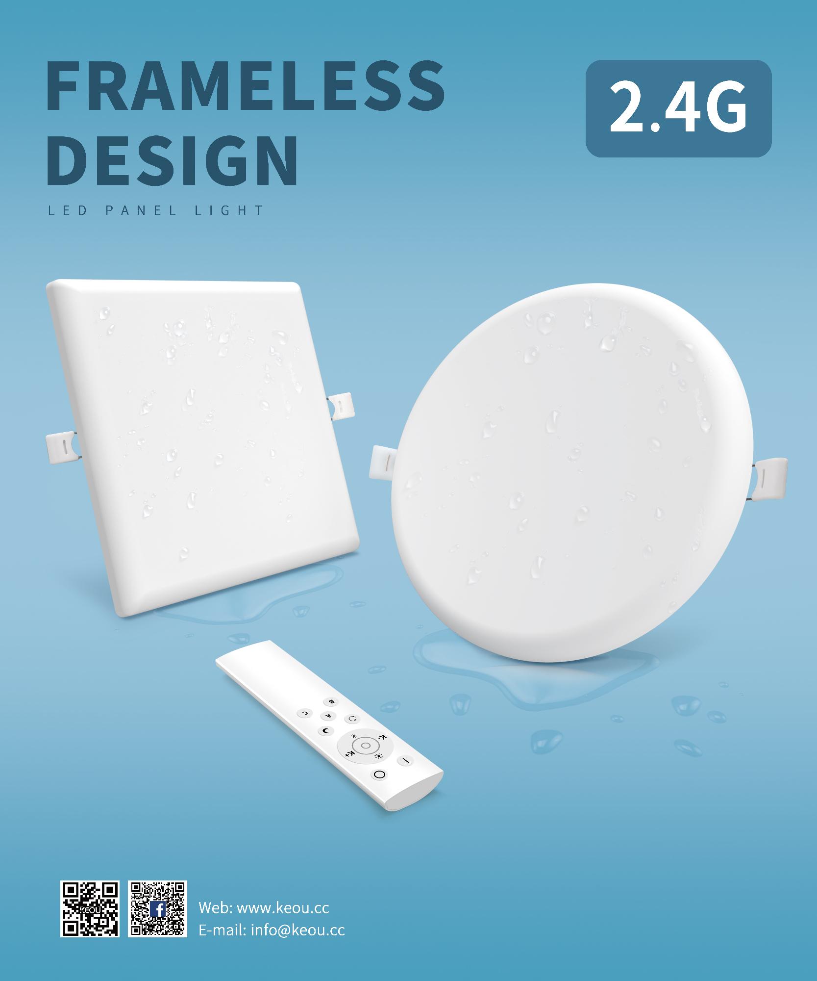 frameless led light manufacturer