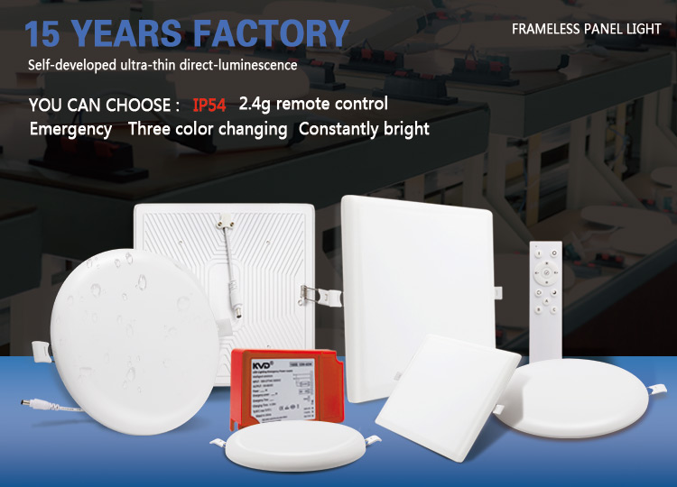 frameless led downlight
