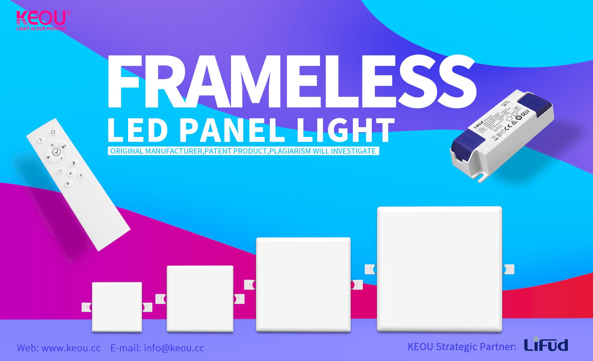 led light panel factory