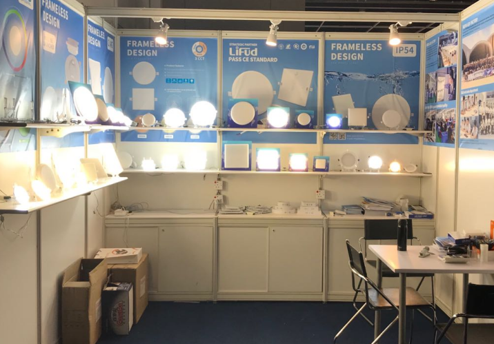 KEOU panel led light factory- HKTDC Hong Kong International Lighting Fair