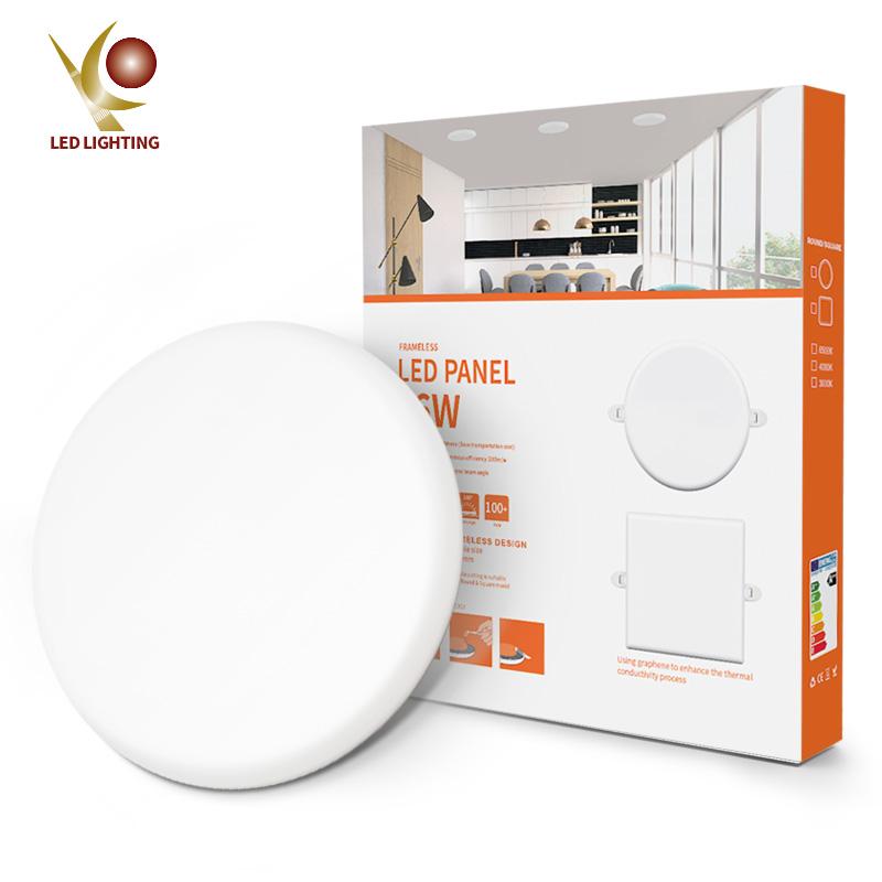 Ultra slim panel light COMI Brand 16W 24W 32W 100lm/w frameless recessed down lamp