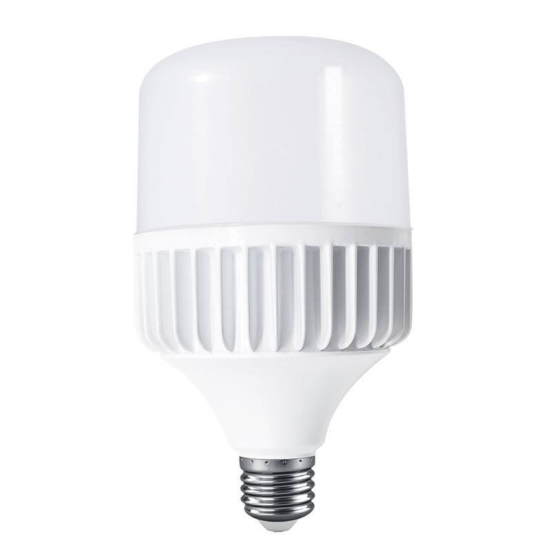 E27 LED Bulb Light 18W 28W 48W 38W Big Column T Shape Lamp PC Aluminum B22 LED Light
