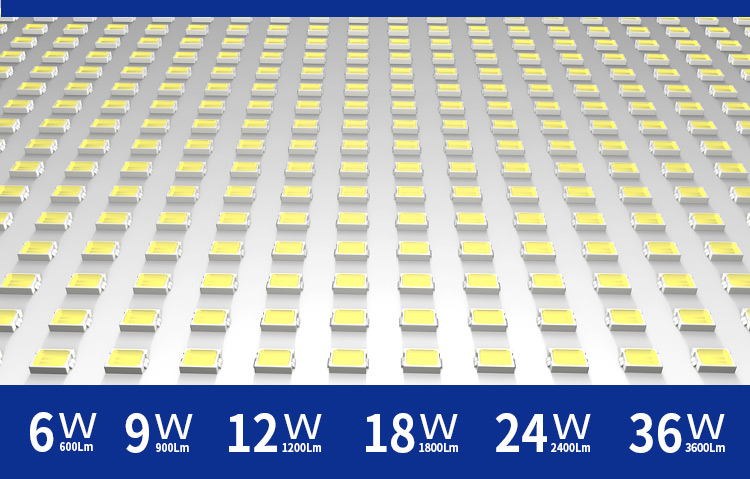 Square Ceiling Light led