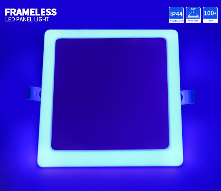 double color led panel