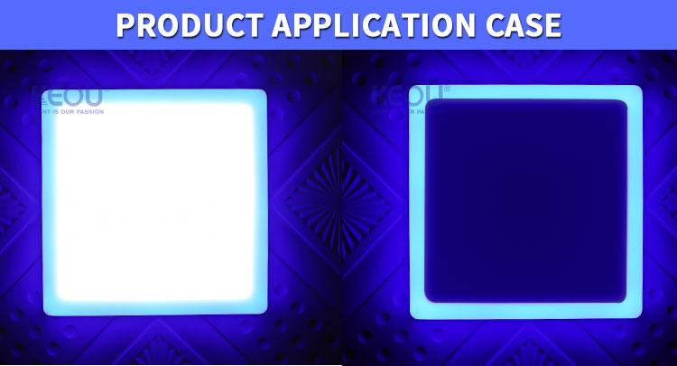 bi color led light panel