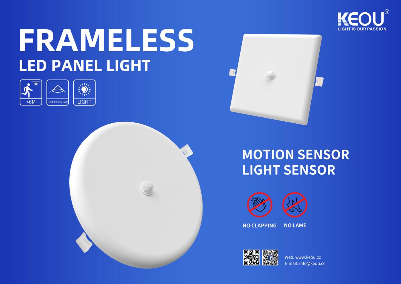 led panel motion sensor factory