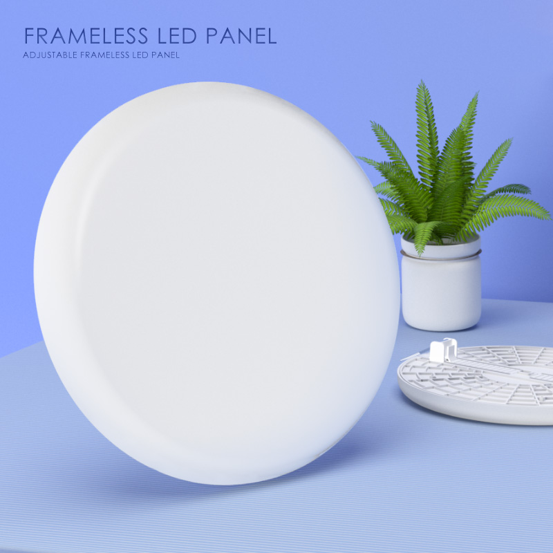 Adjustable led panel 36w new round frameless design light patent lamp
