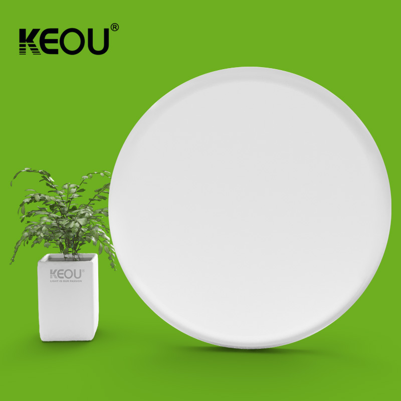 Adjustable led panel light 100lm/w no frame smart 24w round lamp manufacturer KEOU patent product