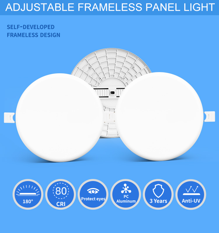 led smart panel light
