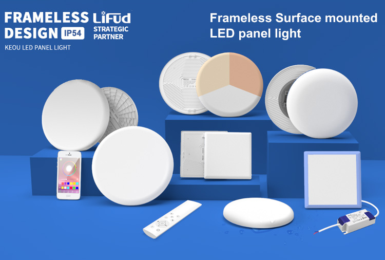 led panel light surface mounted
