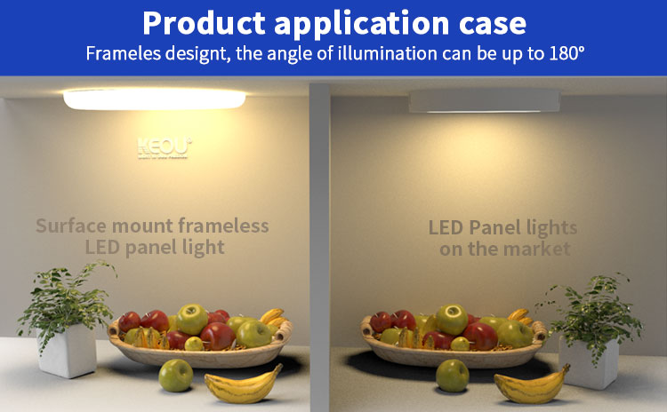 led panel light surface mounted