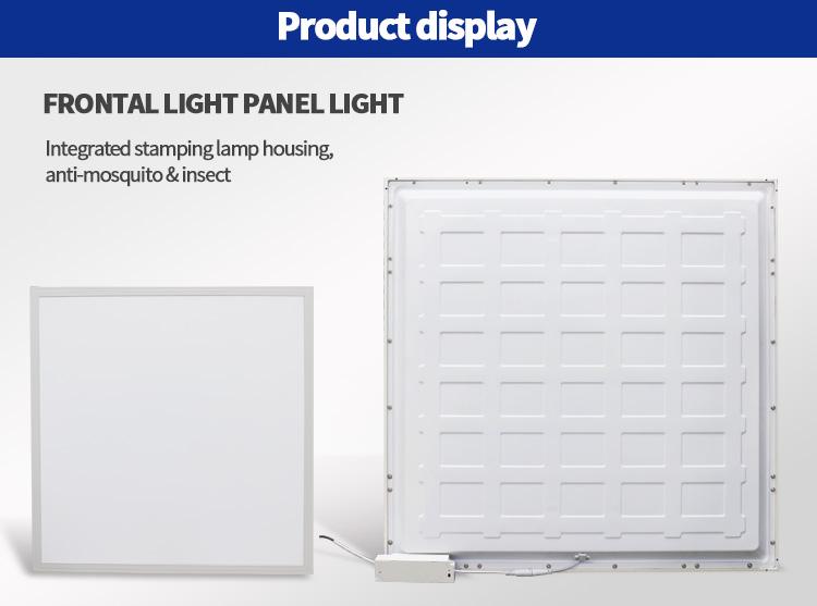 flat led panel light factory