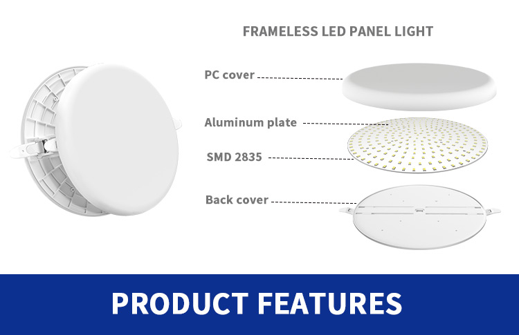 Dimmable LED Panel Light Factory