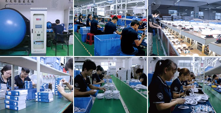 LED light factory