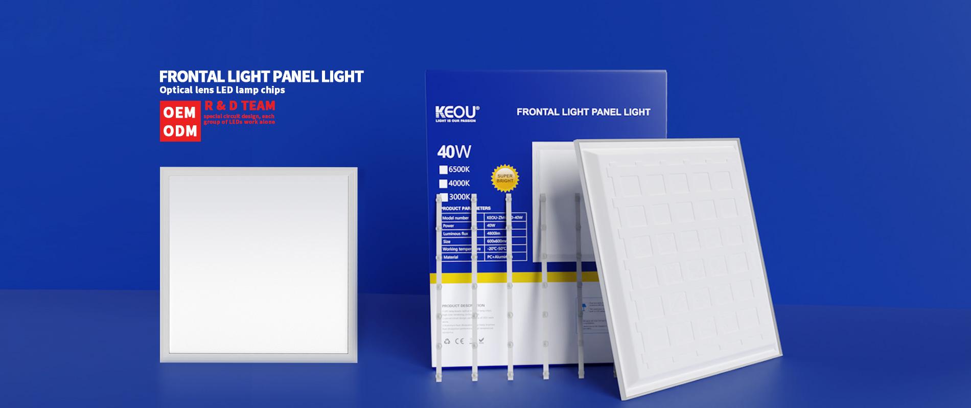 led flat panel light factory