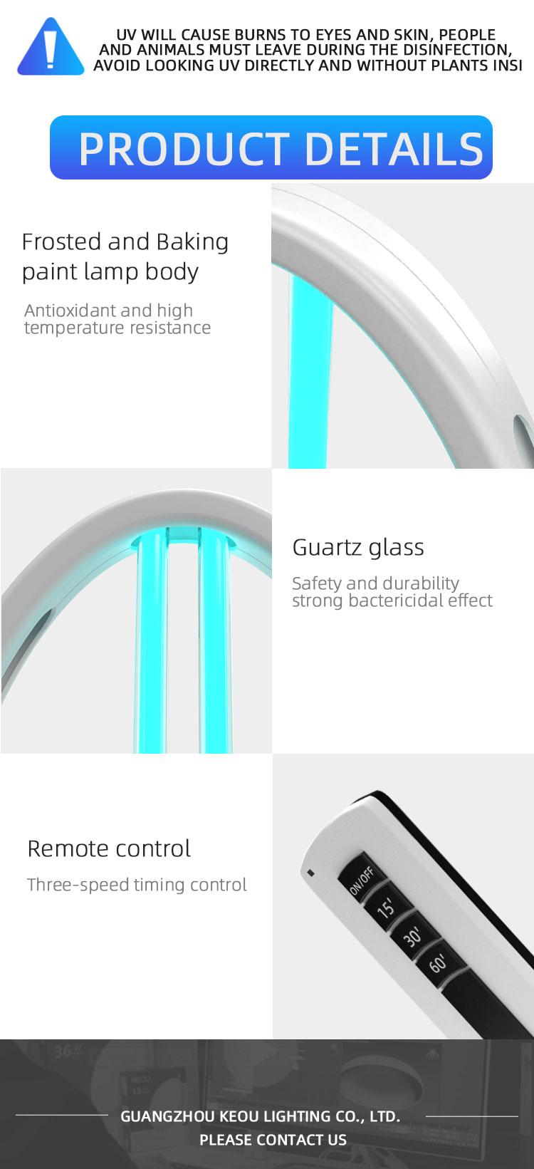 UV Germicidal light