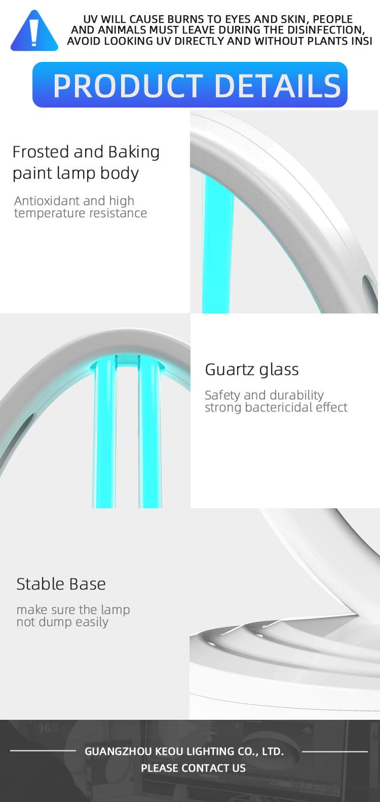 ultraviolet sterilizer light