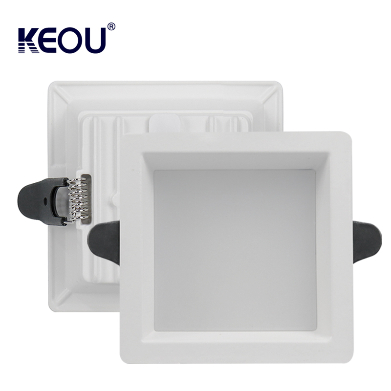 Square led downlight 9W 18W 24W 36W Downlight led recessed lamp downlight light