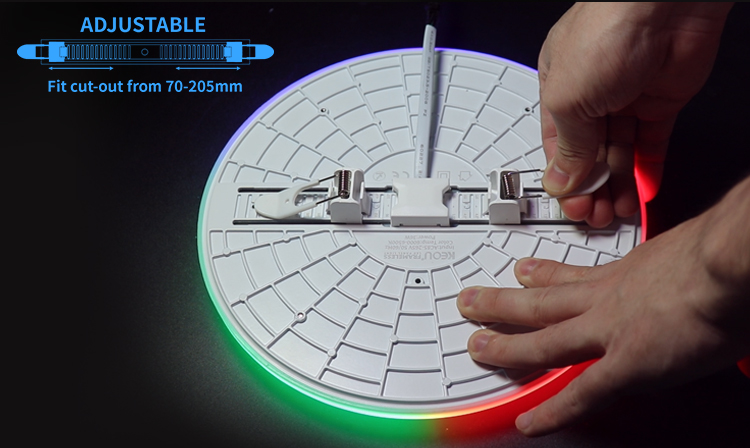 adjustable led panel light factory