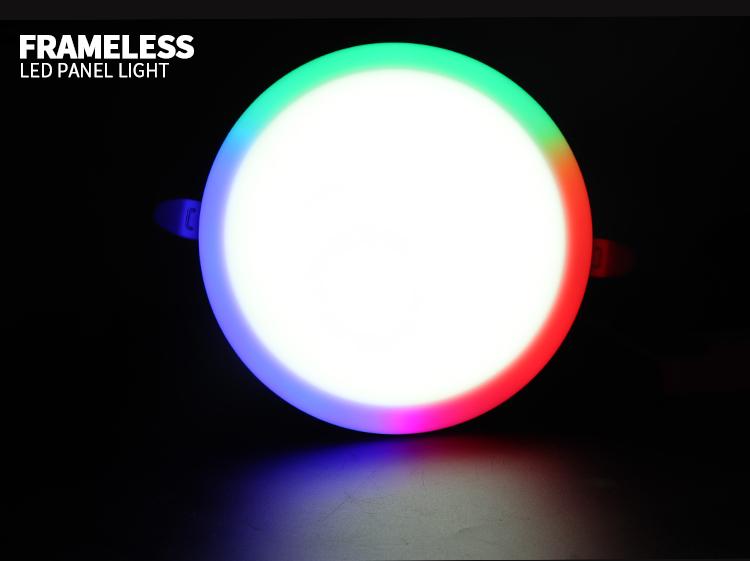 RGB light panels