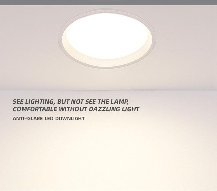 slim led downlights