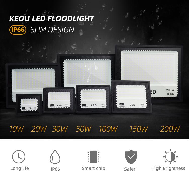 100w led floodlight