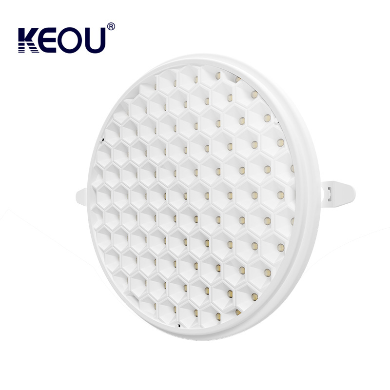 adjustable led lights frameless round led panel 36W dimmable led panel light 55-205mm